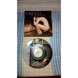Encarte E Cd Creed My Own Prision Original   Usado