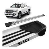 Estribo Aluminio Nova S10 Cd 12 2013 2014 Mod Original Prata