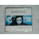 Evanescence Bring Me To Life Cd Single Nacional