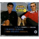 Fagner E Zeca Baleiro Cd Single Com Video Clipe   Raro