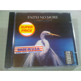 Faith No More Angel Dust Cd Lacrado Fabrica Made Usa: Import