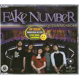 Fake Number Cd Single Aquela Musica Lacrado