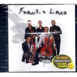 Família Lima Cd Single Dançando Contigo 4 Versões   Lacrado