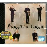 Família Lima Cd Single Promo Primeiro Amor   Raro