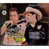 Fernando E Sorocaba Cd Single Bala De Prata Ao Vivo   Raro