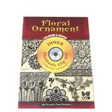 Floral Ornament Com Cd E Livro   Importado   Pronta Entrega