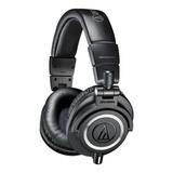 Fone De Ouvido Over-ear Audio-technica M-series Ath-m50x Black