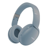 Fone De Ouvido Over-ear Sem Fio Tedge H600bt Azul-claro