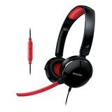 Fone Headset Shg7210 Philips Gamer C/ Mini Microfone 2m Cabo