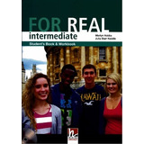 For Real Intermediate Student s Book And Workbook   Cd rom