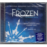 Frozen   The Broadway Musical Original Cast  Cd Novo Lacrado