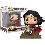Funko Pop Wonder Woman Dc Coleção Jim Lee De Luxe Gamestop