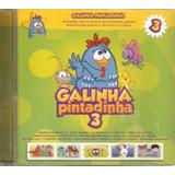 Galinha Pintadinha Vol 3 Cd Lacrado Original Som Livre