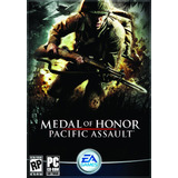 Game   Pc Medal Of Honor Pacific Assault   4 Cd rom