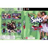 Game Para Pc The Sims 2 Vida De Universitario Pc cd Novo