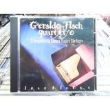 Geraldo Flach Quarteto Interiores Cd Original Excelente Esta