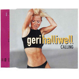 Geri Halliwell   Calling Cd Single Promocional Nacional
