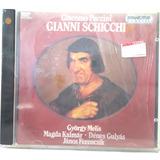 Giacomo Puccini Gianni Schicchi Cd Original Gyorgy Melis