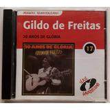 Gildo De Freitas Cd Nac Usado 20 Anos De Glória Remasterizad