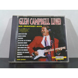 Glen Campbell Live    His Greatest Hits   Cd Imp Av8