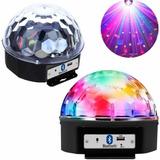Globo Bola Maluca Led Magic Cristal Rgb Bluetooth Pen Drive