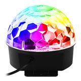 Globo Colorido Rgb Led Laser Iluminação Dj Festa Balada