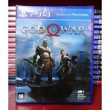 God Of War Ps4 Cd Novo Lacrado Português Frete Grátis