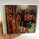 Gog   Dia Dia Da Periferia Cd Single Raridade Rap Nacional
