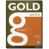 Gold Pre first Cb With Cd rom