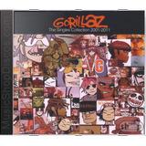 Gorillaz The Singles Collection 2001   Novo Lacrado Original
