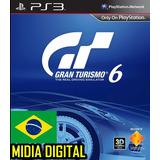 Gran Turismo 6 Jogos Carros Aventuras Ps3 Dublado Português