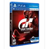 Gran Turismo Sport Gt Ps4 Mídia Física Cd Promoção