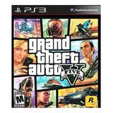 Grand Theft Auto V Standard Edition Rockstar Games Ps3 Digital