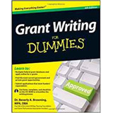 Grant Writing For Dummies   Book With Cd rom   4th Edition