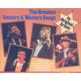 Greatest Country Western Songs Cd Johnny Cash Carl Perkins