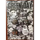 Green Day 4 Buttons Botons Oficial Importado Lacrado