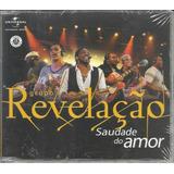 Grupo Revelação   Saudade Do Amor   Cd Single Promo lacrado
