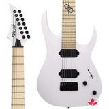 Guitarra 7 Cordas Solar White Matte A2.7w