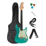 Guitarra Elétrica Stratocaster Tagima Tg500 + Acessórios