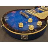 Guitarra Les Paul Strinberg Azul Lps-230 Fgrátis 12x
