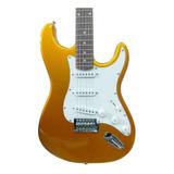 Guitarra Strato Condor Rx10 Gdn Dourada Com Nota Fiscal