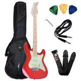 Guitarra Stratocaster Strinberg Sts 100 C/ Palhetas+ Brindes