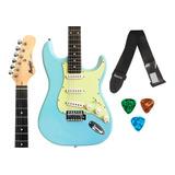 Guitarra Stratocaster Tagima Memphis Mg30+ Correia+ Palhetas