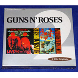 Guns N  Roses ¿  G N  R Lies   Appetite   Box 2 Cd s   Novo