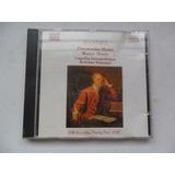 Handel   Fireworks E Water Music Capella Cd Importado 1988