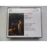 Handel   Saul English Oratorio In Three Acts Cd Triplo Imp