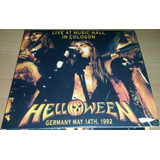 Helloween   Live At Music Hall In Cologon 1992  cd dvd