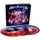 Helloween Cd United Alive In Madrid Triplo 03 cds Digipak