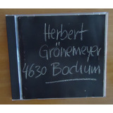 Herbert Gronemeyer   4630 Bodium   Cd Importado