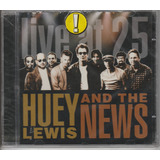 Huey Lewis And The News   Cd Live At 25   Lacrado